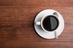 在表的咖啡 库存照片