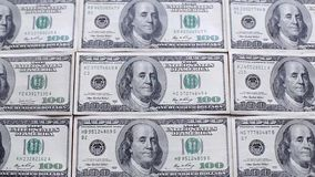 在表的货币 影视素材