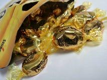 在袋子的Werther的原物 免版税库存照片