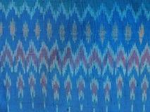在被编织的织品的样式 库存图片