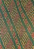 在被编织的织品的样式 库存照片