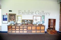 在被膜博物馆的展览画廊在北部密西西比 库存照片