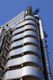 在被采取的大厦高伦敦上升摩天大楼之下 图库摄影