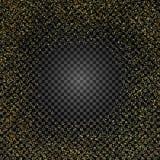 在被隔绝的背景的金黄闪烁纹理 金黄的雨 金五彩纸屑爆炸  设计要素例证图象向量 也corel凹道例证向量 库存例证