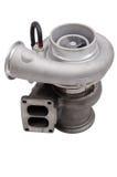 在被隔绝的白色背景的蒸气增压器 免版税库存图片
