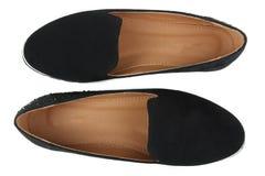 在被隔绝的背景的鞋子 免版税库存照片