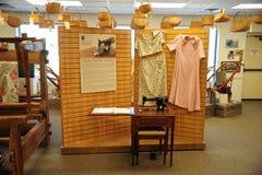 在西方田纳西三角洲遗产的缝合的展览集中 免版税库存图片