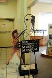 在西方田纳西音乐博物馆的蒂娜・特纳海报 免版税库存照片