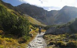 在西方Tatra山的Smutna dolina在斯洛伐克 免版税库存图片