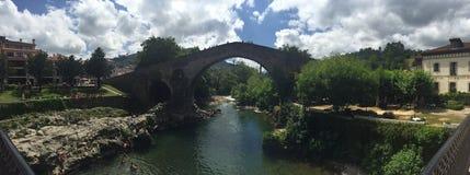 在西班牙北部 库存图片