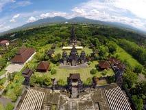 在西部的巴厘岛寺庙 库存照片