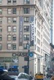 在西部第25条街道上的一种Wework设施在曼哈顿 免版税库存图片