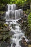 在西部米尔顿的瀑布 库存图片