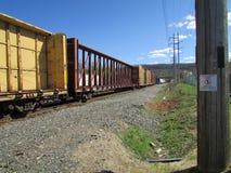 在西部Haverstraw, NY的有轨电车 库存照片