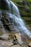 在西部Virgina的瀑布 免版税库存照片