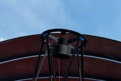 在观测所的望远镜 库存图片