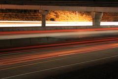 在视图之下的2座桥梁高速公路 库存照片