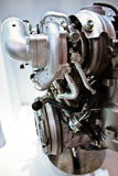 在视图里面的引擎 免版税库存图片