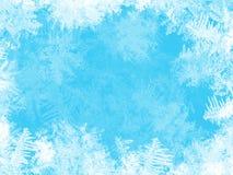 在视窗的空白霜   库存图片