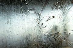 在视窗的霜 库存图片