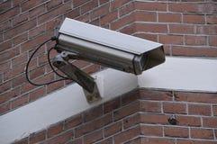 在议院的安全监控相机 图库摄影
