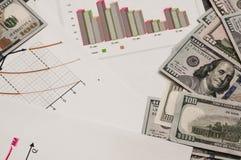在诗歌和企业品行的经济概念 税的付款 免版税库存照片