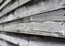 在谷仓的老橡木震动 库存图片