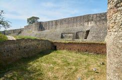 在贝尔格莱德堡垒 免版税库存图片