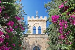 在贝特谢梅什附近的拜特Jimal或拜特贾迈勒宽容修道院 库存照片