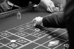 在赌博娱乐场-肾上腺素仓促放松 免版税库存图片