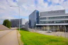 在赫尔辛基机场附近的区域 库存图片