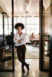 在起动的创造性的女性执行委员 库存照片