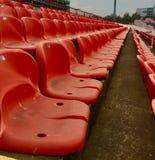 在足球场的生活 免版税库存照片