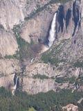 在距离的瀑布 库存照片
