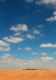 在路上向死海,约旦,中东 免版税图库摄影