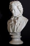 在路德维格・范・贝多芬的伦布兰特照明设备 库存照片
