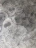 在路的圈子抽象艺术品 免版税库存图片