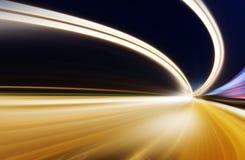 在路的汽车 免版税图库摄影