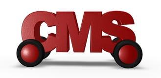 在路的Cms 免版税库存图片