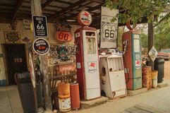 在路线66上在亚利桑那 免版税库存照片