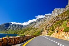 在路线44的山-开普敦,南非 图库摄影