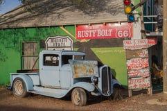 在路线66,亚利桑那,美国 库存照片