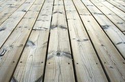 在跳船的木板条在特写镜头 免版税库存图片