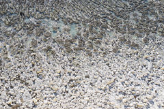 在踩着旋转的空白的峭壁,英国 库存图片