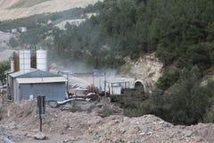 在身体,马尼萨的煤矿爆炸 图库摄影
