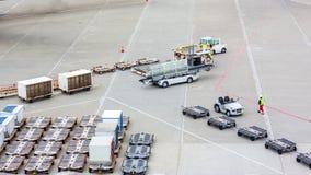 在车的货物 库存图片