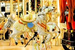 在转盘的一galloper 免版税库存照片