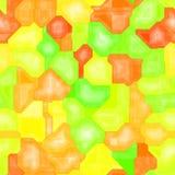 在轮廓色_透亮颜色的不规则的几何eamless样式纹理背景 库存照片