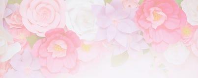 在软的颜色的浅粉红色的花 免版税库存图片