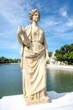 在轰隆痛苦宫殿的雕象 免版税库存照片